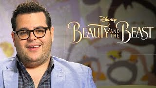 Australian Accent Challenge with Josh Gad for Beauty and the Beast | Oh My Disney