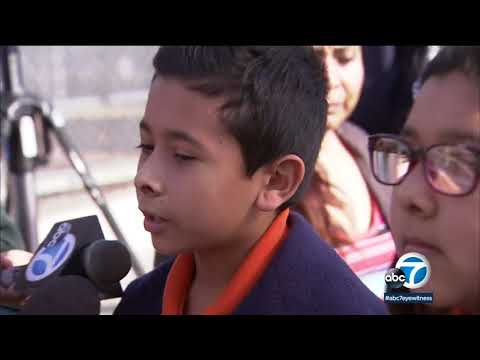 Students, parents react to shooting at Sal Castro Middle School I ABC7