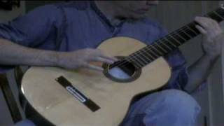 Locrian Modal Jam on Mandola and Nylon-string Guitar 081109