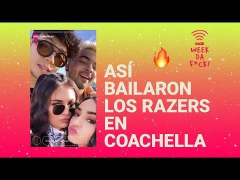 Así Bailaron Pautips, Calle Y Poché, Mario Ruiz, Jaramibrownies En Coachella | Week Daa