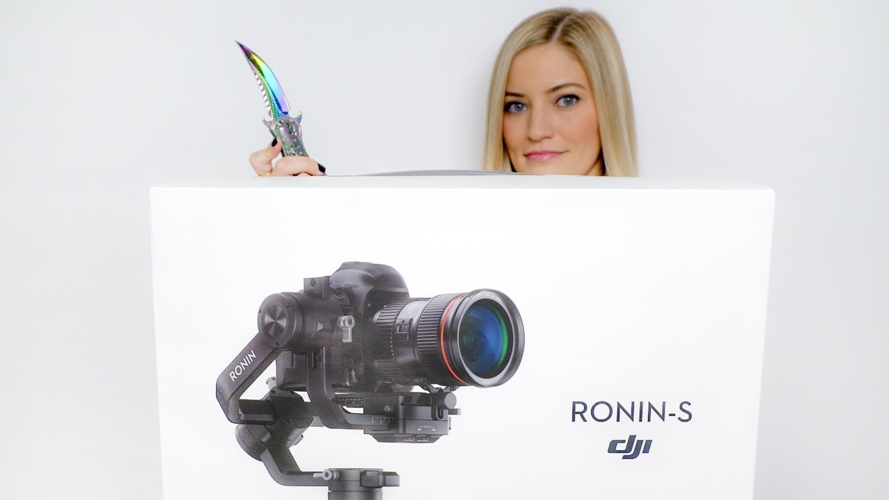Ronin-S Unboxing and Review!