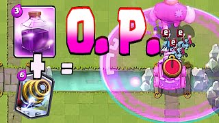 Clash Royale - SPARKY + RAGE SPELL = O.P. (New Legendary update)