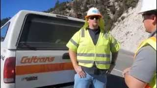 Caltrans News Flash 2014-5 - Helicopter Removal of a Crashed Plane