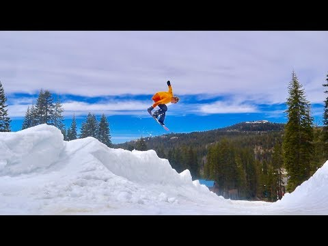 SUMMER SNOWBOARDING PERFECTION | LDOH 2019 WOODWARD TAHOE