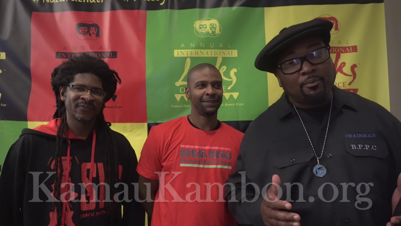 Fred Hampton,  Marcus Kline & Kalonji Changa Jr Tribute Dr. Kamau Kambon