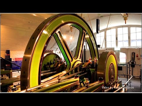 Tower Bridge ENGINE ROOMS, London UK   (HD1080)