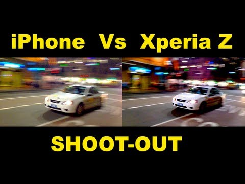 Xperia Z Vs iPhone 5 - SHOOTOUT - Which is Best?