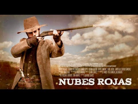 Nubes Rojas (Western, Full Movie, Spanish with English Subtitles, Free Cowboy Feature Film, HD)