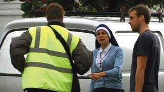 The Fear - The Nun & The Clamper Hidden Camera Prank