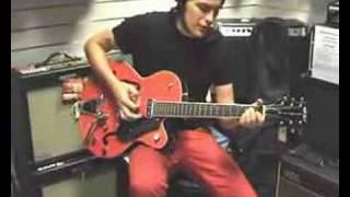 gretsch hollow body electric guitar from musicianshop com