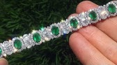 e78c14541 $80,000.00 Estate Natural Colombian Emerald Diamond 18k White Gold Vintage  Tennis Bracelet - A141506 - Duration: 3:23. Certified Jewelry 27,744 views  · 3:23