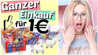 GANZER Einkauf für 1 Euro 😳 | ViktoriaSarina