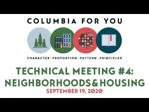 Planapalooza Technical Meeting #4: Neighborhoods & Housing