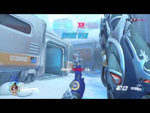 GODLY AIM | Overwatch Widowmaker 3v3 Elimination