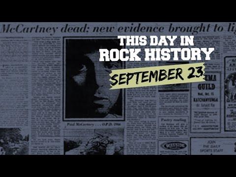 Paul McCartney's NOT Dead, Van Halen Can Fly - September 23 in Rock History