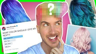 I LET MY FANS PICK MY NEW HAIR COLOR!