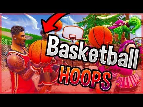 ALL Basketball Hoop Locations (Fortnite Week 2 Challenge)
