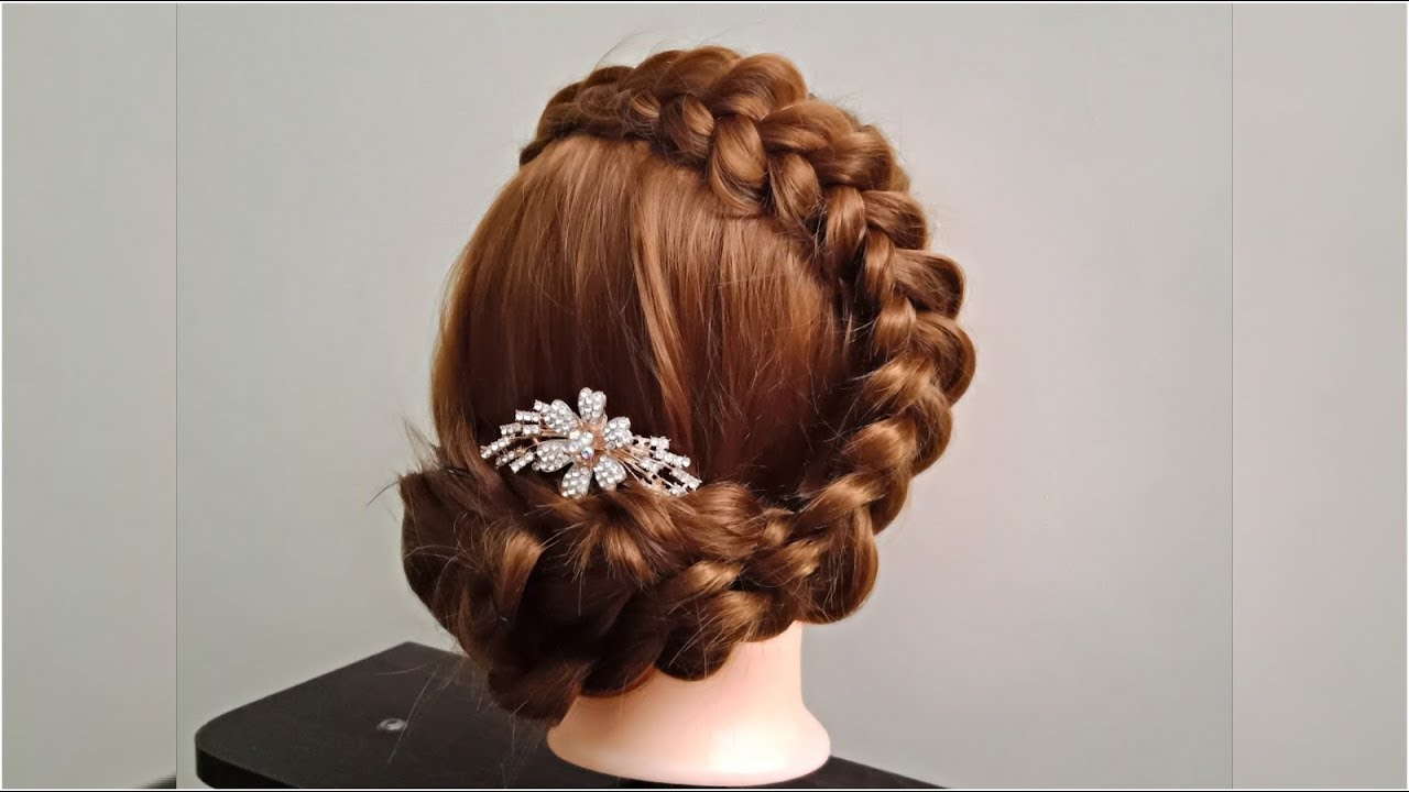 Dutch Braid Jura Hairstyle Party Hairstyle Wedding Hairstyle