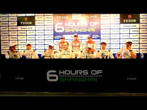 WEC - 2015 6 Hours of Shanghai - Post Race Press Conference