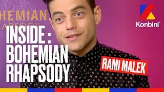 "Les coulisses de ""Bohemian Rhapsody"" avec Rami Malek"