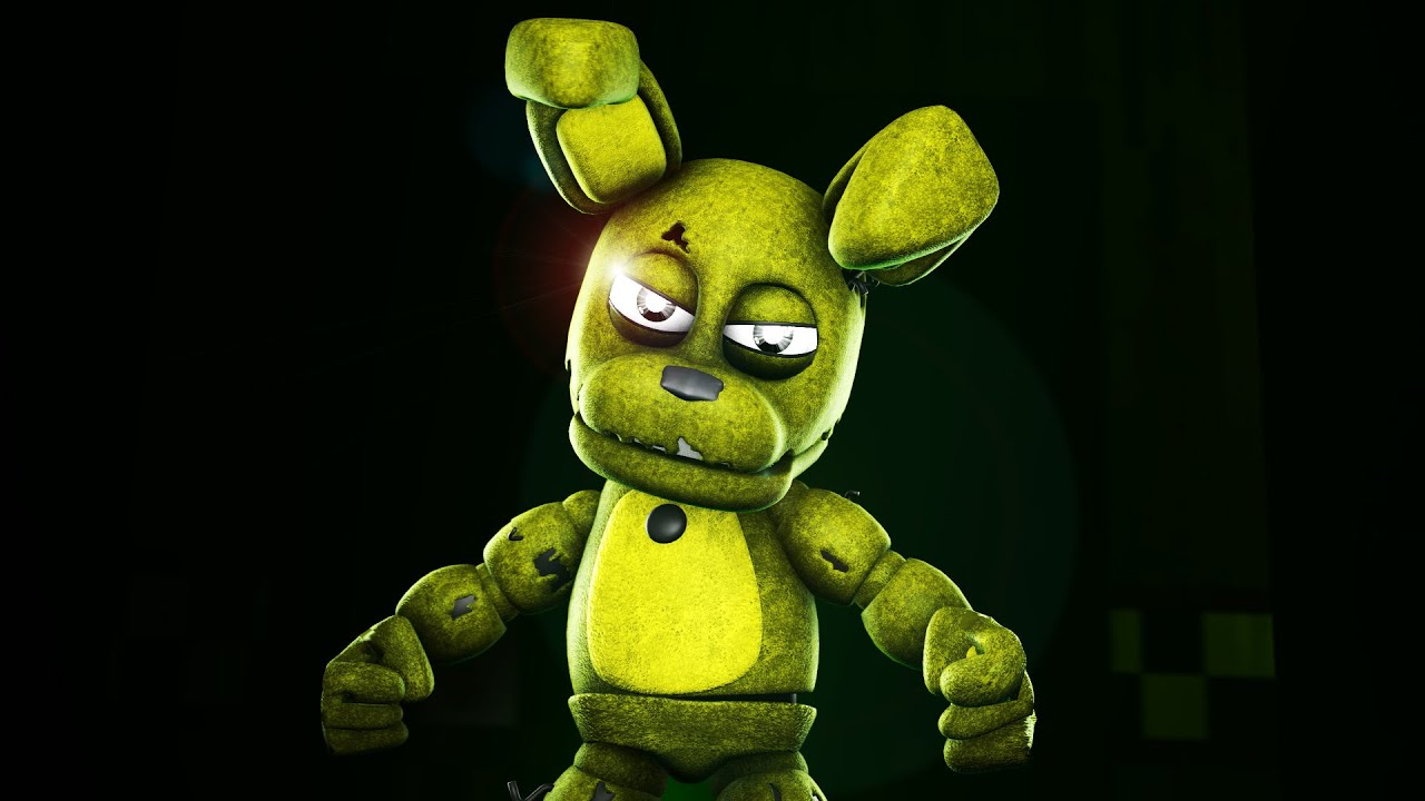 five nights at freddy s animation springtrap meets cute adventure