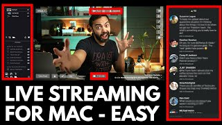 This is the Best Live Streaming Software for Mac - Full Tutorial