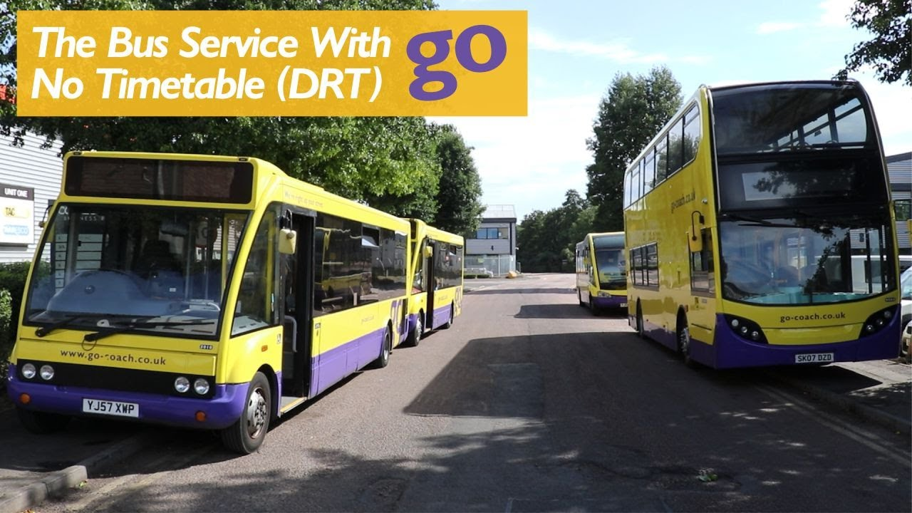 Demand Responsive Transport - Buses With No Timetables