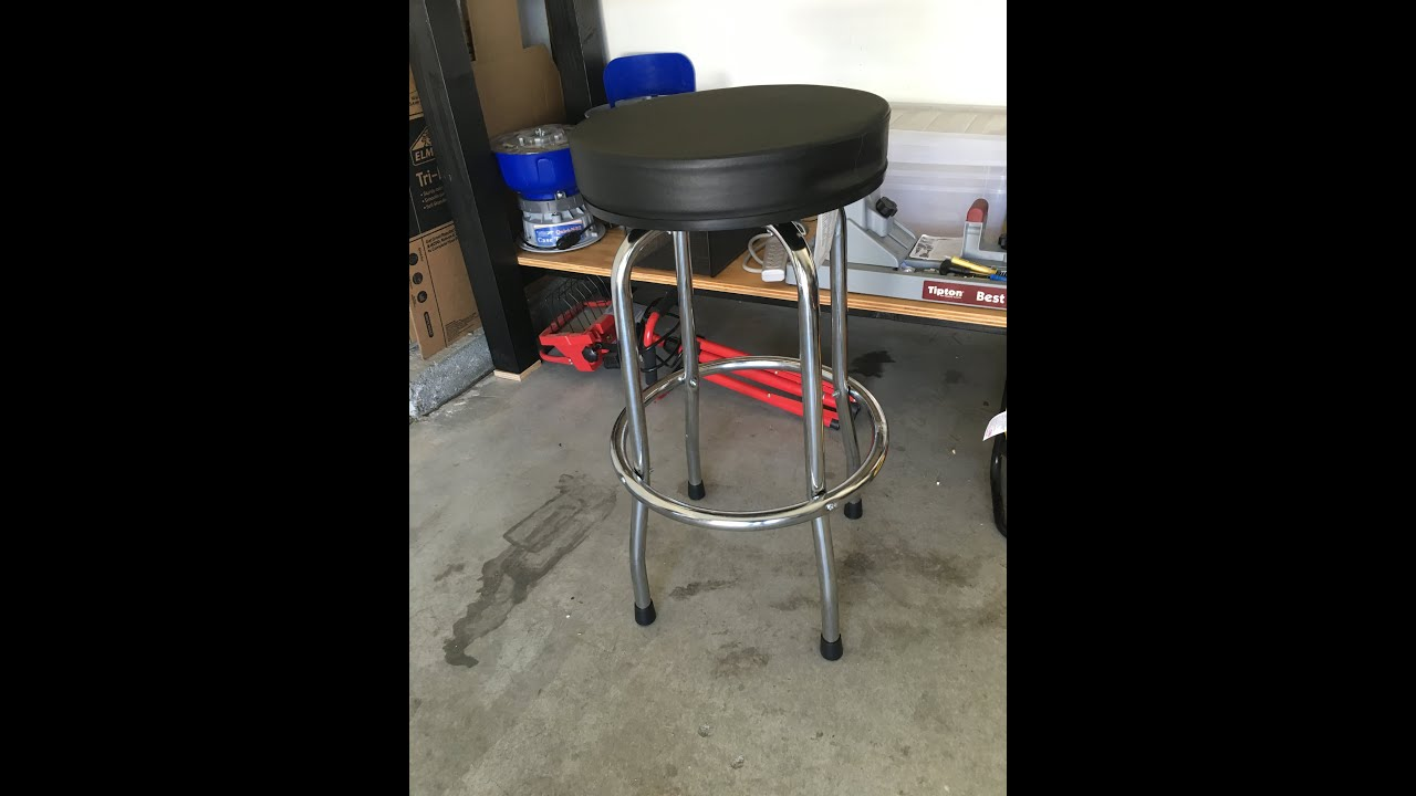 style top barstool motorcycle counter garage with shop stool swivel