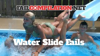 fail compilation   water slide fails