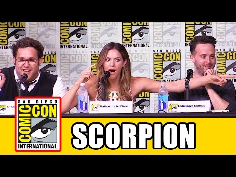 SCORPION Season 3 Comic Con Panel - Katharine McPhee, Jadyn