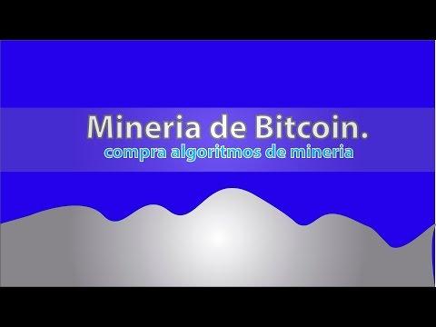 Compra Algoritmos De Mineria De Bitcoin