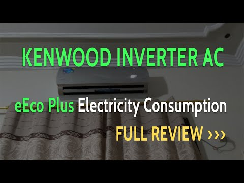 Kenwood eECO Plus Inverter AC Power Consumption Review | KEE 1835S | KENWOOD 1.5 Ton e eco plus