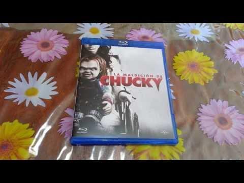 Unboxing La Maldición De Chucky Blu-ray