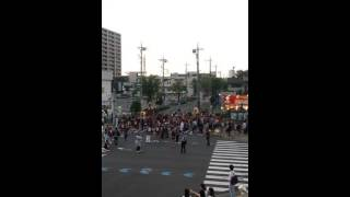 中央区上落合地区の夏祭り(20160717)