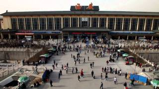 西安駅 xian train staion 西安火车站