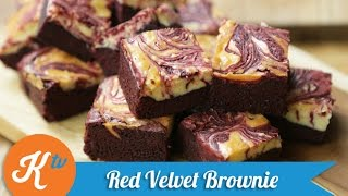 Resep Red Velvet Brownies (red Velvet Brownie Recipe Video)