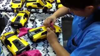 The Making Of Autoart Die Cast Models Buffing And Cleaning Youtube