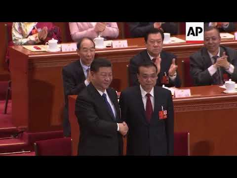 Chinese Premier Li Keqiang appointed to second 5-year term