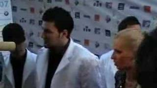 Simplu si Blondy  la MTV Romania Music Awards 2007 Sibiu