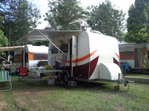 Camping Paineiras, em Itu, SP / 1ª Parte / Uma Volta Bem Cedo, Antes do Movimento Começar