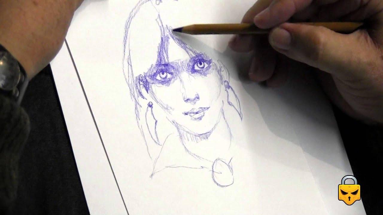 Vampirella Speed Art With Sanjulian