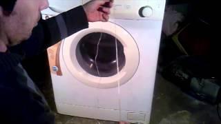 Como abrir la puerta de un lavarropas