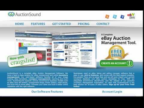 Craigslist and eBay listing Management Software for Consignment and Retail