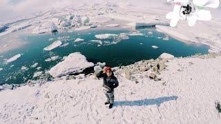 25 jkulsarlon glacier lagoon drone