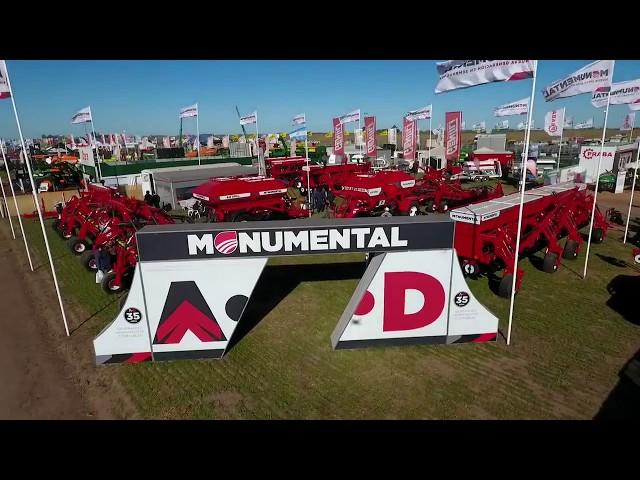 Sembradoras Monumental, participacion en AGROACTIVA  2018, Armstrong (Santa Fe).