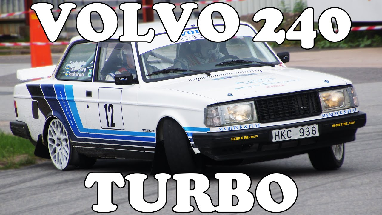Volvo 242 Turbo Rallying! - YouTube