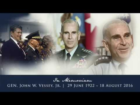 Celebration of Life | Gen. John W Vessey Jr.