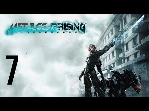 Stealth Plays: Metal Gear Rising: Revengeance Part 7 | Cyborg Police