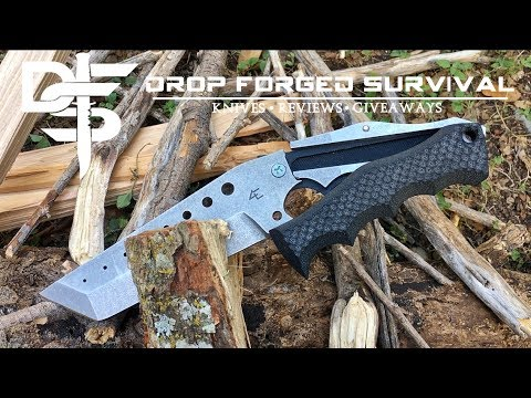 DESTROYED | $300 Ultimate Survival Knife | 4Ever Knife