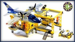 Lego City Deep Sea Explorers Deep Sea Operations Base 60096 Stop Motion Review | ALEXSPLANET